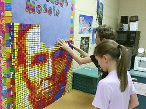 lincoln-mosaic-rubiks-cube